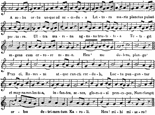 The project gutenberg ebook of a popular history of the art of music lament for charlemagne fandeluxe Image collections