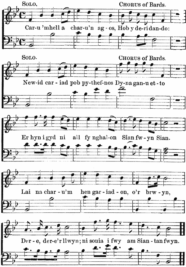 The project gutenberg ebook of a popular history of the art of music old welsh song fandeluxe Image collections